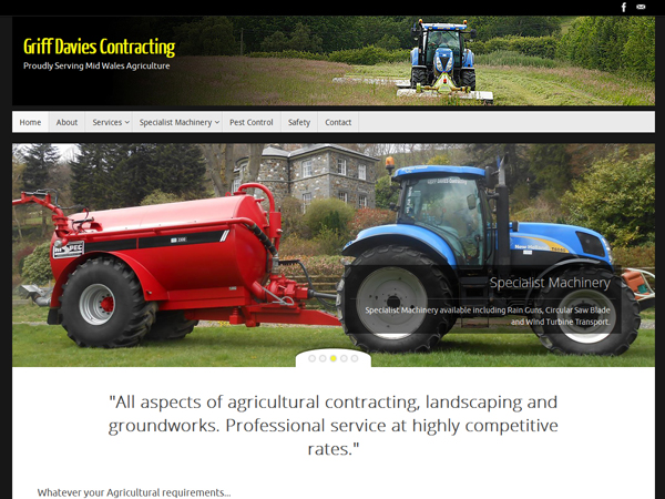 Griff Davies Contracting of Llanidloes